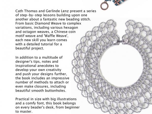 Diamond Weave book back cover
