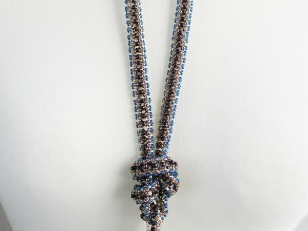 Toho Challenge piece with RCR and embellished Pendulum