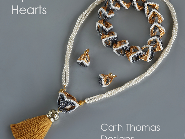 Open Hearts - jewelry set