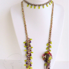 Another way to weaAnother way to wear the butterfly rope lariatr the lariat