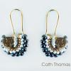 Fandango earrings with moon beads