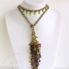 Another way to wear the butterfly rope lariat