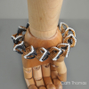 Open Hearts - Foxtail chain bracelet