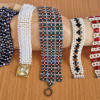 Designs using all sorts of beads - by Cath Thomas