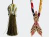 Green/cream Tulip Tassels and Mermaid tail