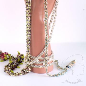 Bracelet, ropes, lariat