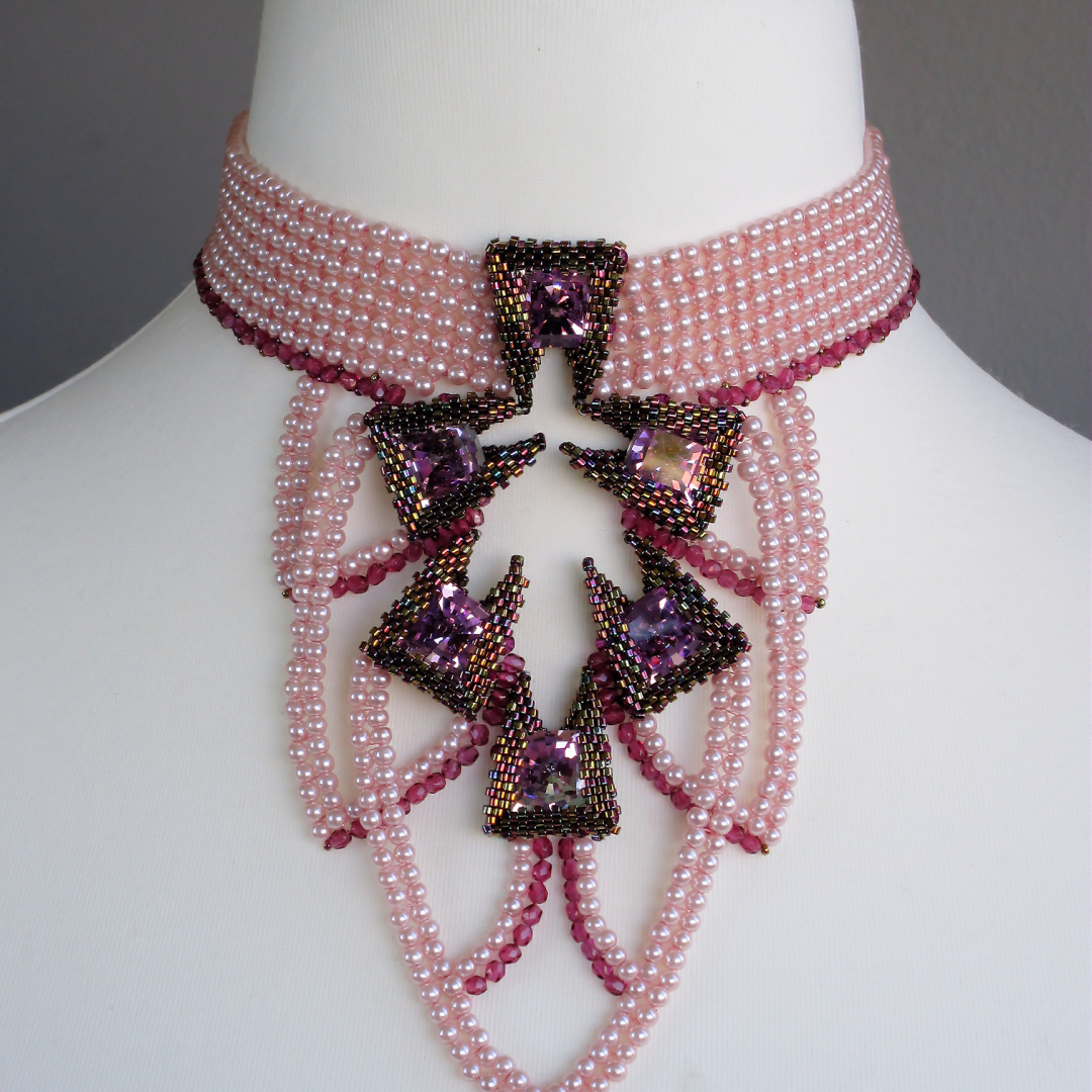Beadwork with a story